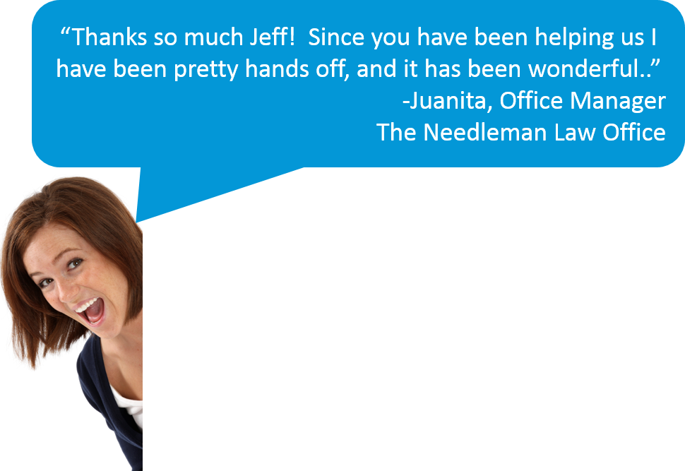 Thanks Jeff! Since you've been helping us it has been wonderful!
