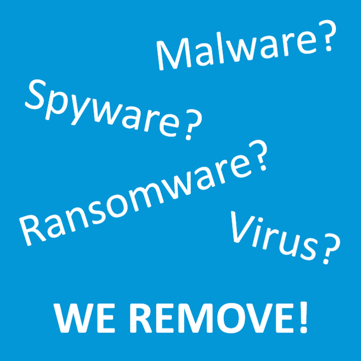 Virus Spyware Malware Ransomware Removal