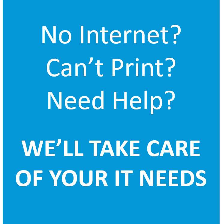 We'll take care of your IT needs!